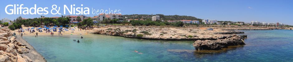Cyprus beaches protaras glifades and nisia beaches