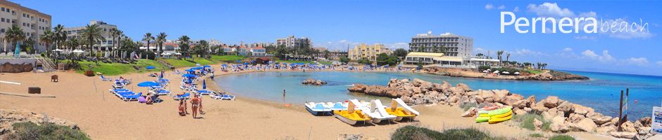 Cyprus beaches protaras pernera beach