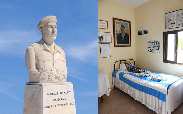 Fotis Pittas Statue and Museum