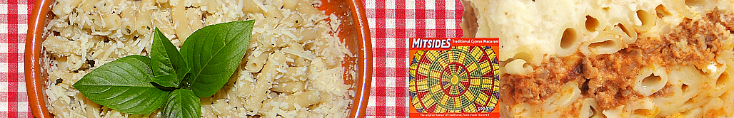Cyprus best pasta recipes by mitsides